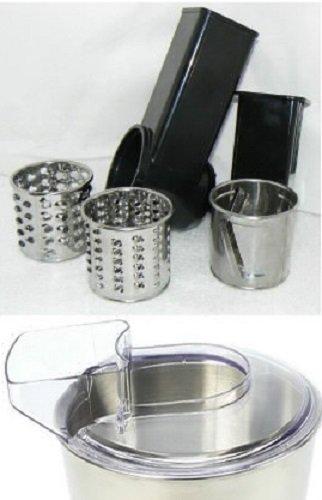 kitchen-grand-chef-kit-accessoire-salade-rape-tranche-couvercle-anti-eclaboussure-du-bol-accessoire-