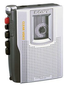 Sony Tcm150 Entry Cassette Recorder (Voice Recorders / Portable & Personal Audio)