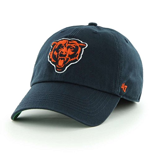 Chicago Bears Throwback Franchise Fitted Hat By '47 Brand Select Franchise Hat Size: Medium - 7 1/4 front-971101