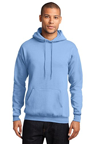 Port Company Classic Pullover Hooded Sweatshirt. - X-Large - Light Blue