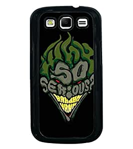 Fuson Premium 2D Back Case Cover So serious With grey Background Degined For Samsung Galaxy S3 Neo::Samsung Galaxy S3 Neo i9300i