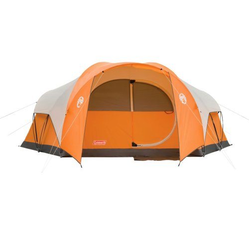Coleman Bayside 8-Person Family Tent – Orange
