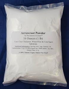 Arrowroot Powder 16 Ounces (1 Pound)