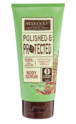 Ecotools Polished and Protected Body Scrub, 6Ounce (Pack of 2)