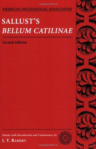 Sallust's Bellum Catilinae (American Philological...