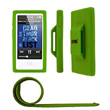 Active Slap Band For Apple IPod Nano 7th Gen - Neon Green