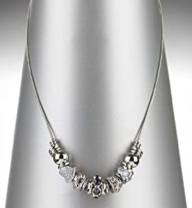 Autograph Mixed Charm Necklace MADE WITH SWAROVSKI® ELEMENTS