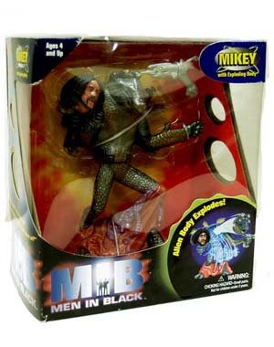 Mikey with Exploding Body Action Figure - MIB: Men In Black the Movie - 1
