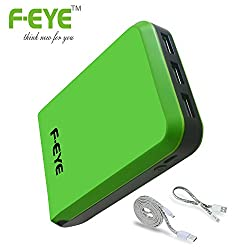 F-EYE® Portable Power Bank 10400mAh with 3 USB Output Port For iPhone 6 Plus, iPhone 6s, 6, 5s, 4s,