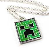 Minecraft Creeper ペンダント Necklace