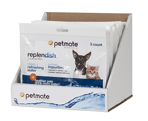 Petmate Replendish Charcoal Replacement Filters, 3-Pack (Mason Jars Quidsi compare prices)