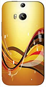 Timpax protective Armor Hard Bumper Back Case Cover. Multicolor printed on 3 Dimensional case with latest & finest graphic design art. Compatible with only HTC - M8. Design No :TDZ-20299