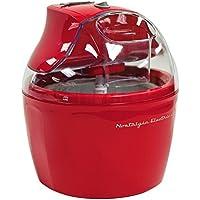Nostalgia Electrics 1.5-Quart Retro Ice Cream Maker (Red)