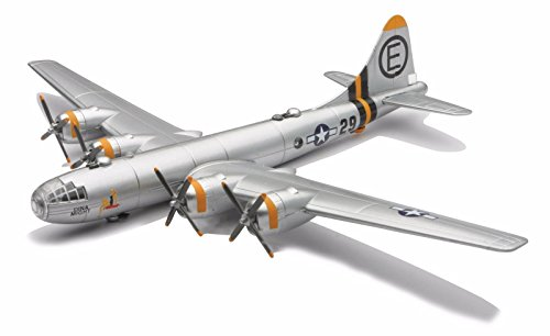 New 1:48 NEW RAY CLASSIC WWII - BOMBERS TRANSPORTER PLANES MODEL KITS SILVER B-29 SUPERFORTRESS Diecast Model By NEW RAY TOYS (B 29 Model Kit compare prices)