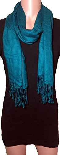 100-natural-pure-silk-scarf-solid-color-plain-scarves-soft-winter-teal