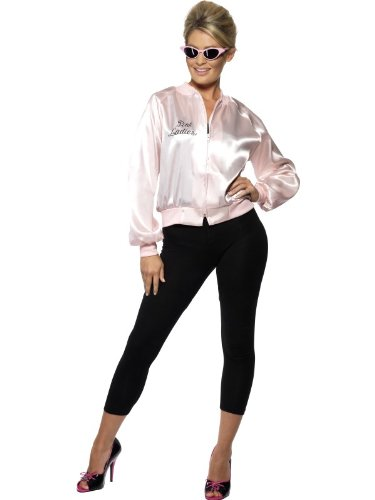 GREASE PINK LADY JACKET SIZE EXTRA SMALL UK 6-8