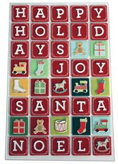 Martha Stewart Sticker Alphabet Block Letters