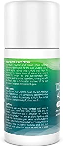 Glycolic Acid Cream 10% - With 20% Vitamin C, 10% Hyaluronic Acid, Niacinamide & CoQ10 - Exfoliating Moisturizer Lotion for Face - Pore Cleanser for Acne, Dry & Aging Skin - InstaNatural - 1.7 OZ from InstaNatural