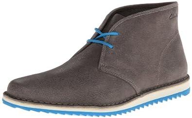 Clarks Men's Maxim Top Chukka Boot,Grey,8 M US