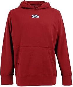 Mississippi Signature Hooded Sweatshirt (Team Color) by Antigua