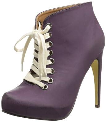 Michael Antonio Women's Mayer-BR Bootie,Purple,8 M US