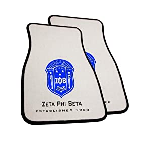 Zeta Phi Beta Car Mats