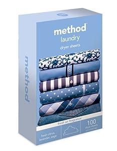 Method baby dryer sheets