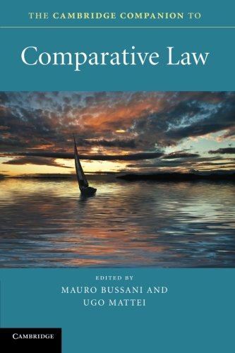Image for publication on The Cambridge Companion to Comparative Law (Cambridge Companions to Law)