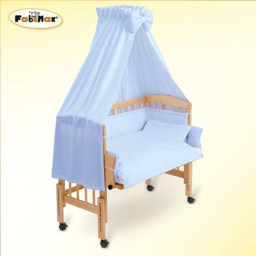 Fabimax - Lettino per neonati BabyMax classico con accessori Amelie, 4 colori assortiti