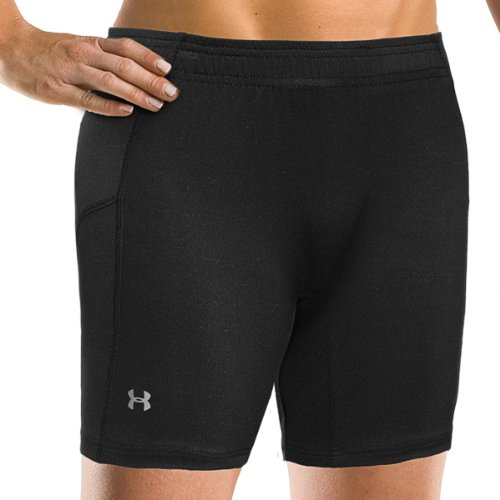 Under Armour Running Womens Draft Compression 5inch Shorts