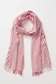Women's Cotton Modal Stripe Scarf