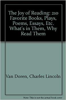 210 book essay etc favorite joy play poem reading