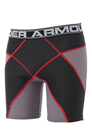 Under Armour Mens 1 Pair Compression HeatGear Coreshort Pro by Under Armour