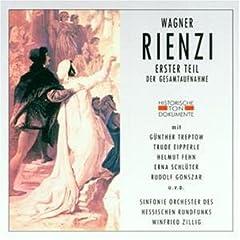 Wagner: Rienzi (Gesamtaufnahme) (1. Teil) (1. und 2. Aufzug) (Aufnahme Frankfurt 1950) CD