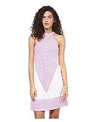 Yepme Women's Multi-Coloured Polyester Dresses - YPMDRES0211_M