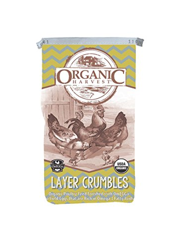 Kalmbach Feeds Organic Layer Feed with Omegga for Chicken, 40 lb