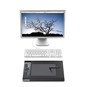 Wacom Wireless Pen Tablet with computer