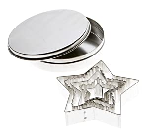 Mrs. Anderson's Baking Cookie Cutter Set, Star