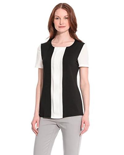 Tèr de Caractère T-Shirt Manica Corta [Nero/Bianco]