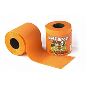 Rutt Wipe Blaze Orange Toilet Paper. Precio: $4.97
