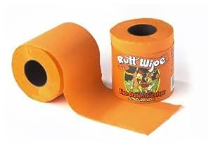 Rutt Wipe Blaze Orange Toilet Paper