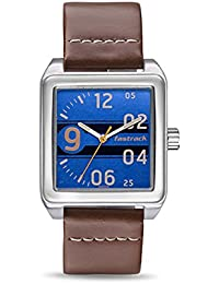 Fastrack Analogue Blue Dial Mens Watch-3164Sl03