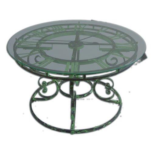 Uttermost 24349 Gilbertine Clock Table