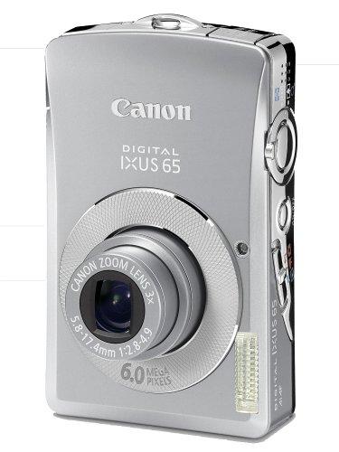 Canon IXUS 65 Digital Camera[6MP 3 X Optical]