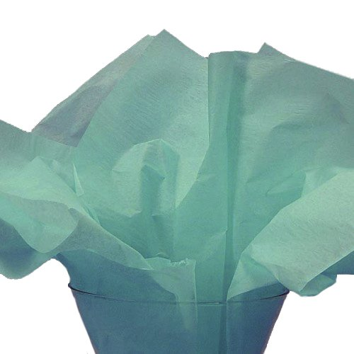 Dress My Cupcake DMC79504 100-Piece Tissue Paper, 20 by 14-Inch, Tiffany Blue