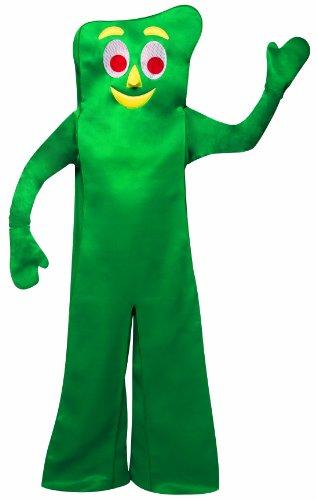 Rasta Imposta Gumby Costume, Green, One Size