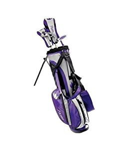 Intech Flora Junior Girls Golf Club Set (Right-Handed, Age 4 To 7) by Intech