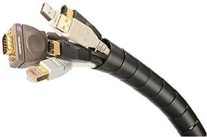 Monster CIT MBK-16 Medium Diameter Black Cable-It Wire Management System (16 feet)