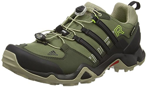 adidas Terrex Swift R GTX, Scarpe da trekking medio uomo, Verde (Grün (Base Green S15/Core Black/Tech Beige F13)), 46