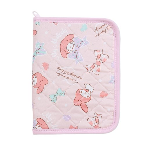 My Melody maternal and child Handbook case S (Ribbon)